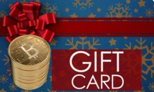 Bitcoin gift cards
