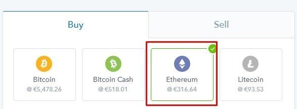 buy ethereum
