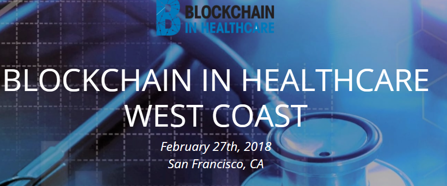 Resultado de imagen para conference of blockchain in health san francisco