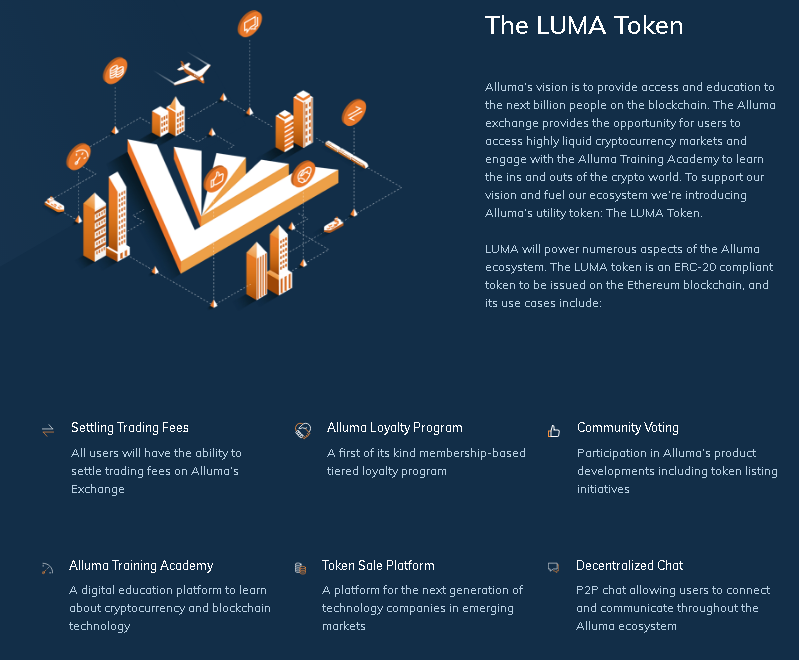 Alluma Website